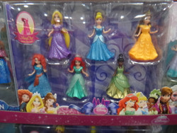 Mattel Disney Princess Magiclip Dolls 8 Pack | Fairdinks