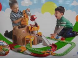 Little Tikes Big Construction Peak Rail N' Road Set | Fairdinks