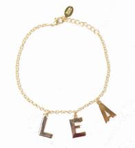 Three Initial Alphabet Bracelet