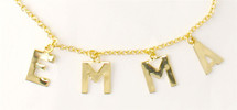 Four Initial Alphabet Necklace