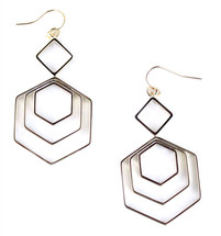 Carnaby Hexagon Earring - More Colors