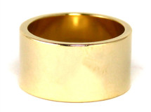 Single Cigar Band Ring  - More Colors: Seen on Selena Gomez in Latina Magazine and more!