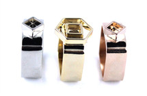 Carnaby Ring Set of Three - Tri-Color