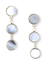 Carrington Triple Round Earring