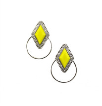 Delano Hoop Earrings- more colors: Seen in Real Simple!