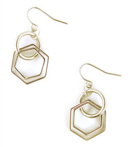 Double Octagon Earring - More Colors