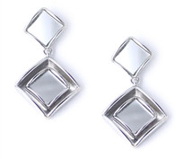 Mirrored Deveraux Drop Earring