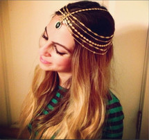 Elaine Head Chain - As seen on Fashionlaine!