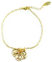 Four Initials Bracelet