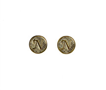 Initials Stud Earrings - As seen on The TODAY Show!