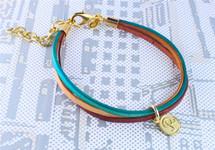 Marina Initial Bracelet