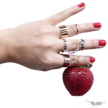 Medium Chained Ring - More Colors
