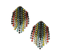 Aventine Long Earring - Tribal Colors (More Colors) - as seen on actress Hayley Orrantia!