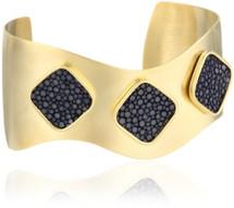 Alexandra Stingray Cuff Gold- More Colors