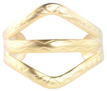 Aztec Cuff - Gold
