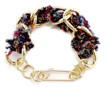 Cecilia Tweed Bracelet - more colors