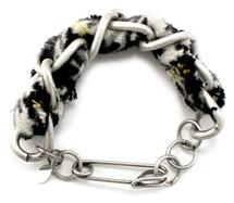 Cecilia Houndstooth Tweed Bracelet - more colors