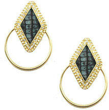 Deco Hoop Earrings- more colors