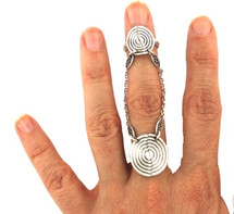 Dreamcatcher Twins Ring - As seen on Jeannie Mai