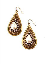 Gilda Downtown Earring - As Featured in BRIDES Magazine!