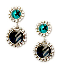 Georgina Stoned Jeweled Earring - more colors: Seen on Michelle Marie!!