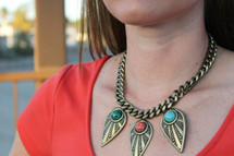 Casablanca Multi Necklace: Seen on Lipgloss and Crayons & in Chaos Magazine!