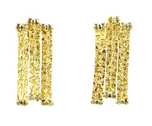Cobblestone Triple Earring - more colors - As seen on Katherine Heigl, Lindsey McKeon and Natalie Morales!