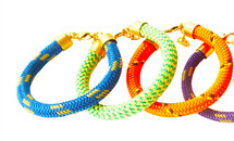 Molli Rope Bracelet (More Colors)- As seen on TV and in Instyle, Tantalum, Bisous and Chaos Magazine!