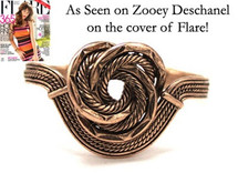 Single Knot Cuff - more colors - As Seen On Selena Gomez and Zooey Deschanel on the cover of Flare!