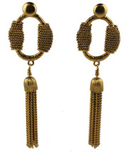 Rope Tassel Earrings (More Colors): Seen on the Real Housewives of Beverly Hills!
