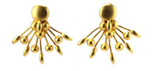 Peacock Earrings - As seen on Giuliana Rancic, Basketball Wives, Virginia Williams and Tantalum Magazine!