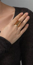 Stoned Dome Ring -  More Colors: As seen on Kylie Jenner & in Shape Magazine