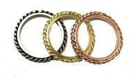 Small Chain Rings - As Seen on Giuliana Rancic, Shantel VanSanten, Ashlee Keating, and in AccessoriesMagazine.com!