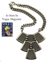 Lorica Necklace - As seen in Vogue and LUCKY Magazines!- More Colors