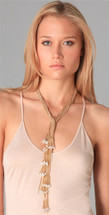 Pearl Tie Necklace - more colors