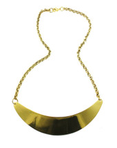 Sheba Bib Necklace - Gold