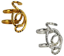Snake Ring - As seen on Jeannie Mai, in Time Out NY Magazine, in Chaos Magazine, and on actress Virginia Welch!
