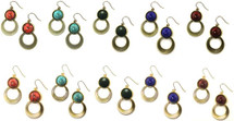 Seminole Stoned Earring - more colors