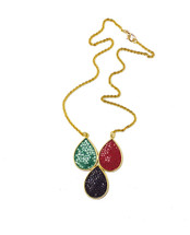 Solange Drop Necklace (More Colors)- As seen in Accessories Magazine!