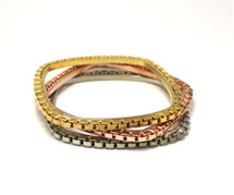 Serena Bangles - Square - As Seen In InStyle and Covet Magazine!