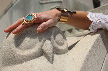 Lucille Ring - more colors: Seen on Priyanka Chopra!