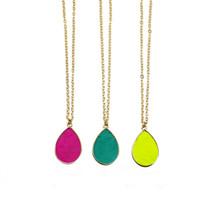 Sydne Reversible Pendant Necklace - choose your colors