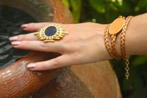 Tangie Wrap Bracelet - more colors: Seen on Natalie Dreyfuss!