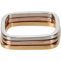 Rigby Ring Set of Three - Tri-Color
