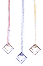 Short Geometric Necklace - More Colors