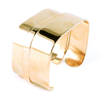 Triple Squares Cuff Set of Three Different Sizes Solid - more colors