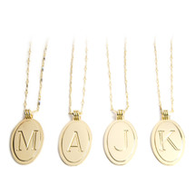 Vintage Initial Necklace - As Seen on The Today Show