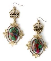 Aurora Earrings - Antique Gold