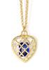Gold/sapphire