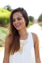 Andie Necklace - more colors: Seen on Melanee Shale!